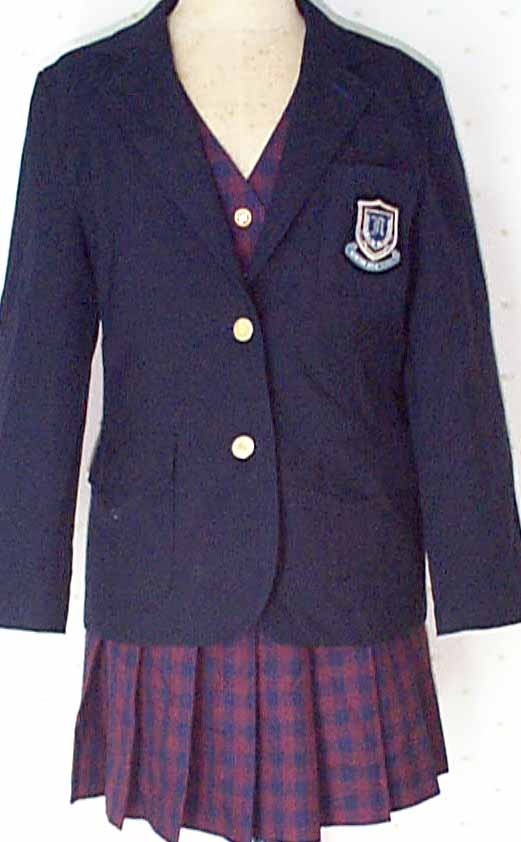 南丹高等学校制服画像